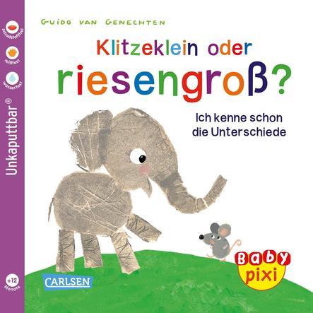 CARLSEN Baby Pixi 52: Klitzeklein oder riesengroß?