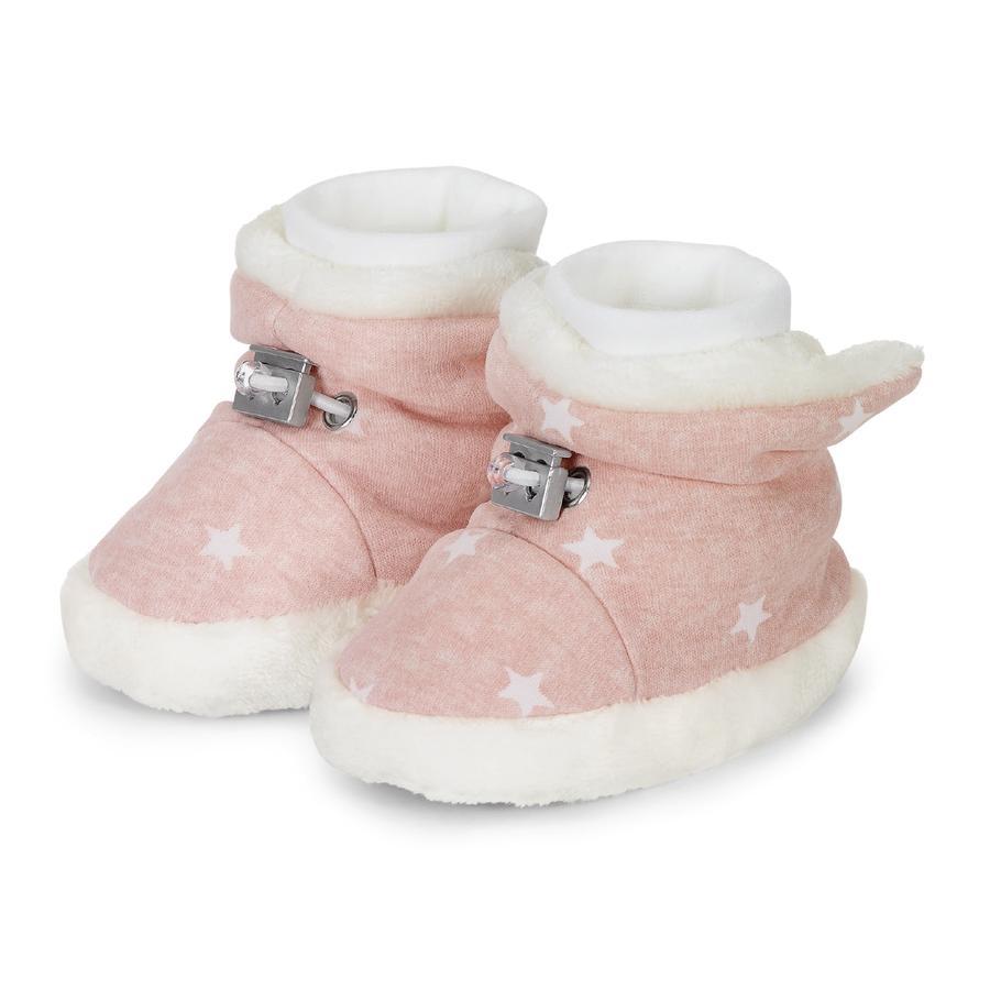 Sterntaler Chaussure de bébé rose pâle