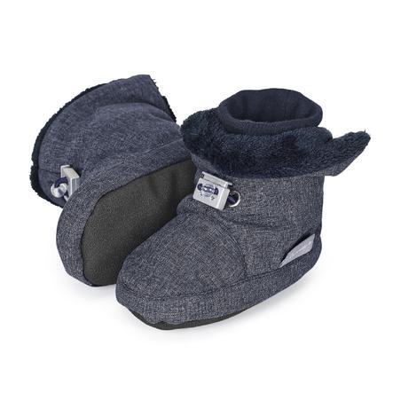 Sterntaler Chłopcy Baby Shoe blue melange