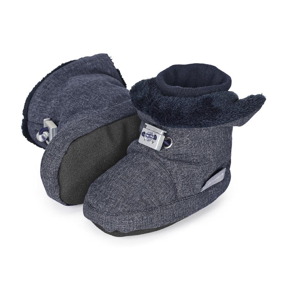 Sterntaler Boys Baby-Schuh blau melange
