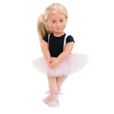 Our Generation - Dukke Violet Anna Ballerina, 46 cm