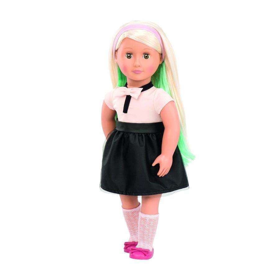 Our Generation - Puppe Amya Styling mit Haarkreide, 46 cm