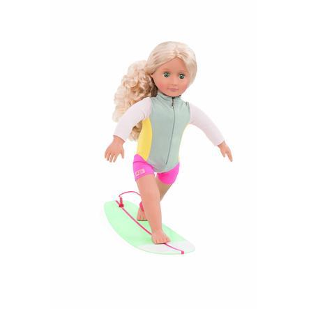 Naše generace - Doll Coral Deluxe Surfer, 46 cm