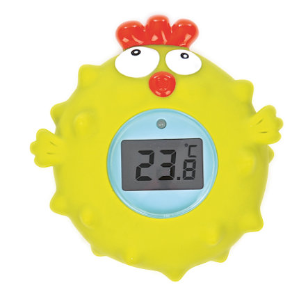 TEDDYKOMPANIET Ted in Tub Thermometer, Huhn