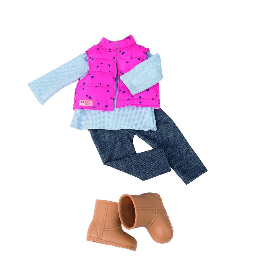 Our Generation - Tenue pour poupée legging, veste piquée étoiles
