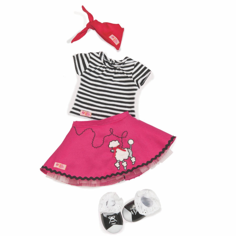 Our Generation - Tanz Outfit mit Petticoat