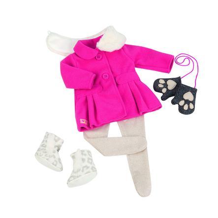 Our Generation - Wintermantel mit Fellkragen und Handschuhe