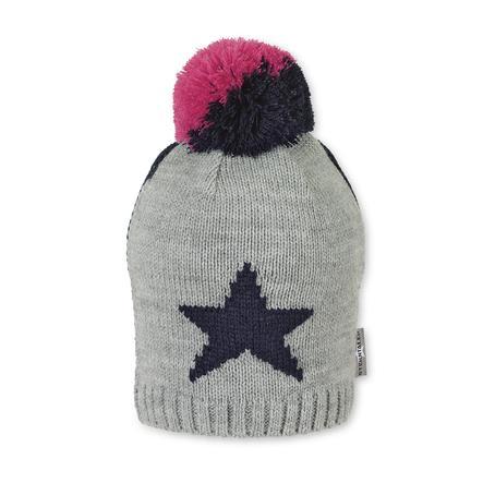 Sterntaler Girls czapka z dzianiny marine