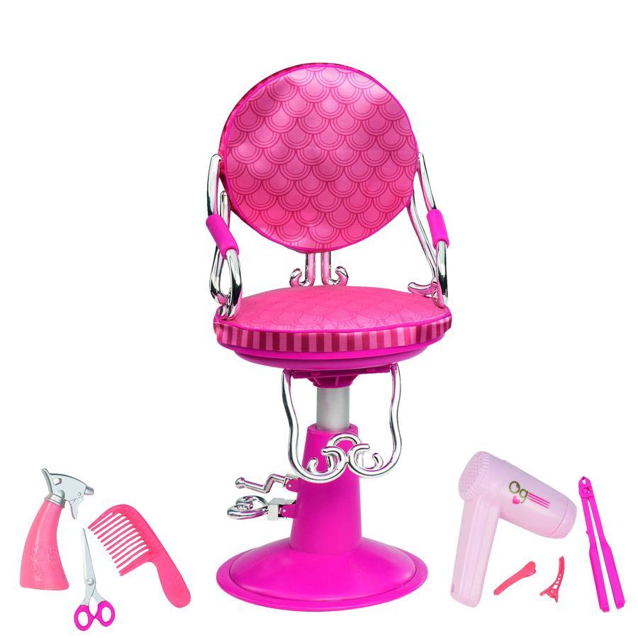 Our Generation - Fauteuil de coiffeur pour poupée, accessoires