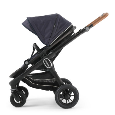Emmaljunga Kinderwagen NXT 60 Ergo Black Outdoor AIR/Lounge Navy