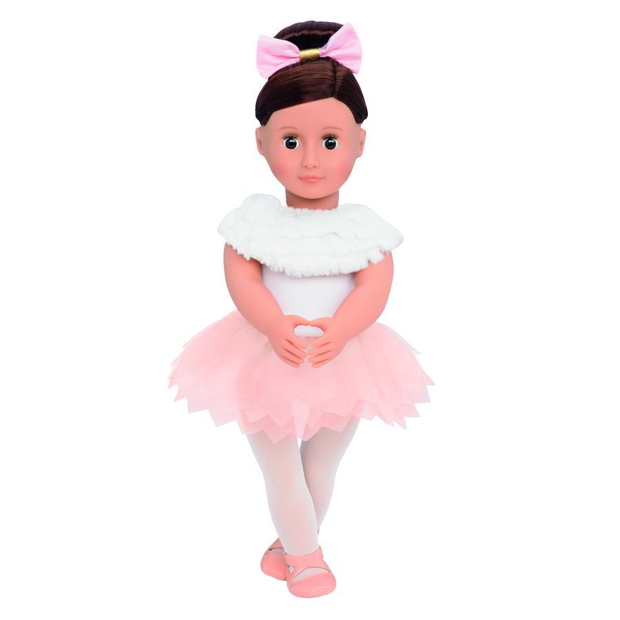 Our Generation - Puppe Valencia 46 cm Baletttänzerin mit gefiederten Rock