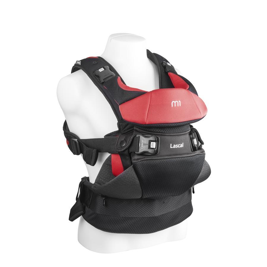 Lascal Porte-bébé dorsal/ventral M1 Carrier rouge