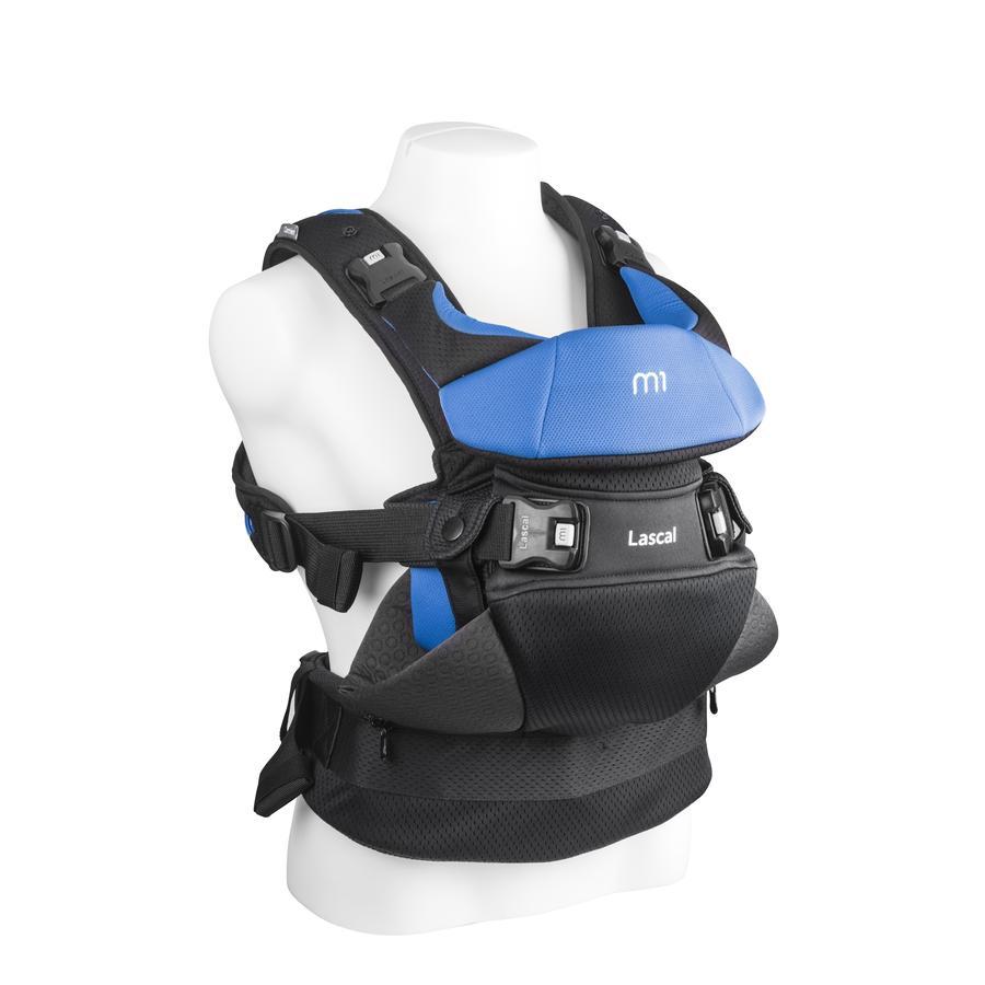 Lascal Porte-bébé dorsal/ventral M1 Carrier bleu