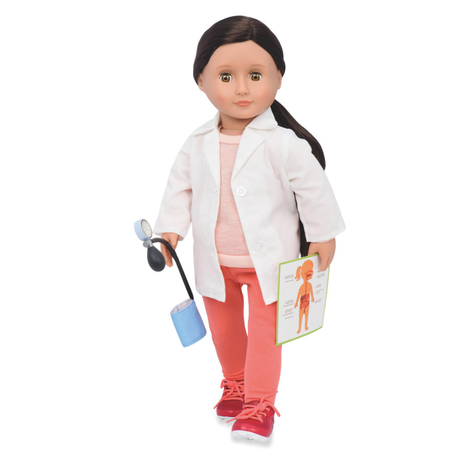 Our Generation - Bambola Nicola il medico 46 cm