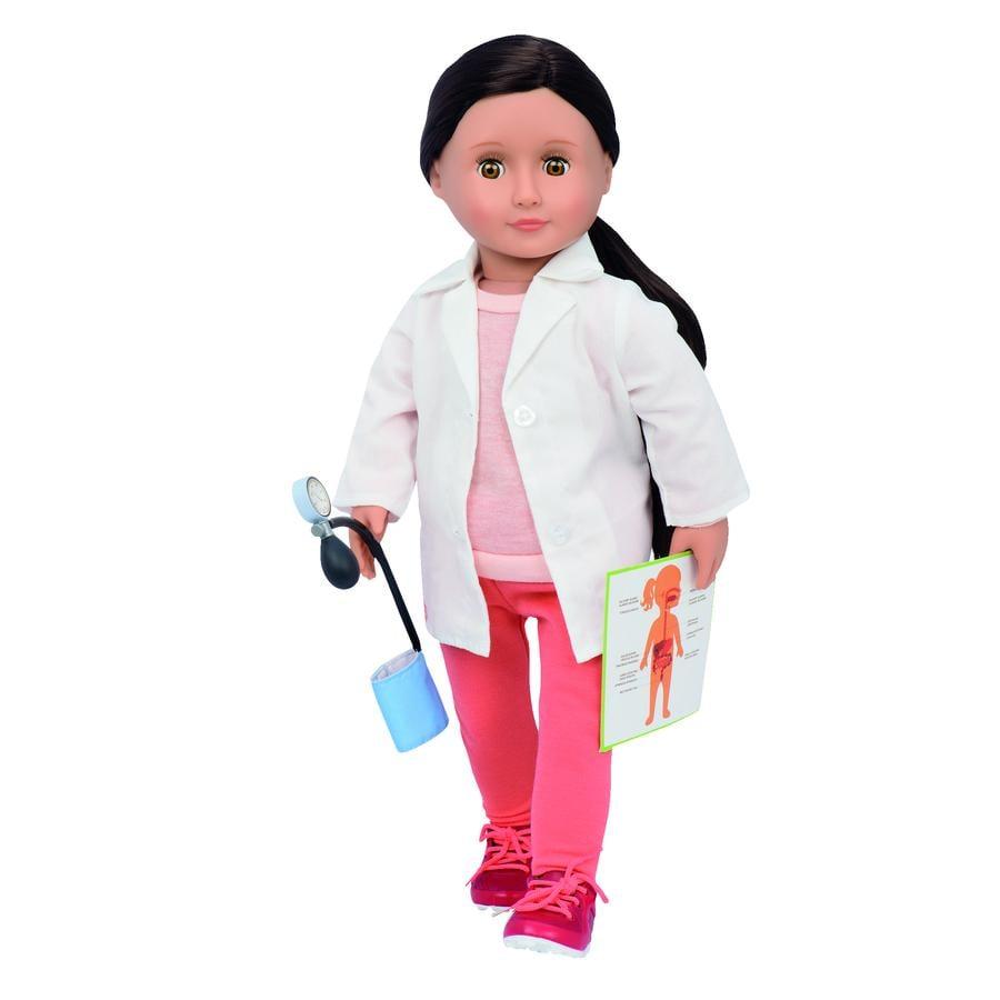Our Generation - Puppe Nicola die Ärztin 46 cm