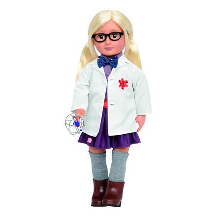 Our Generation - Puppe Amelia die Wissenschaftlerin 46 cm