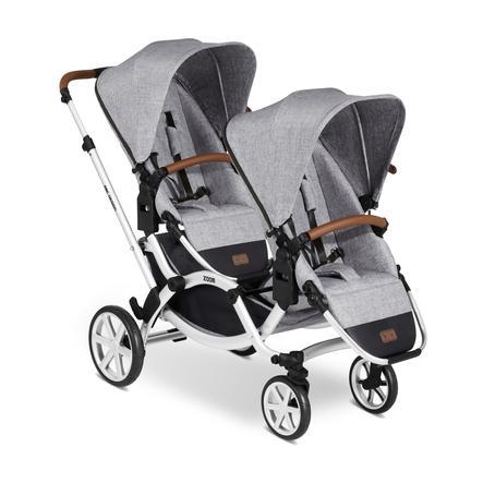 ABC DESIGN Geschwisterwagen Zoom Graphite Grey 2020