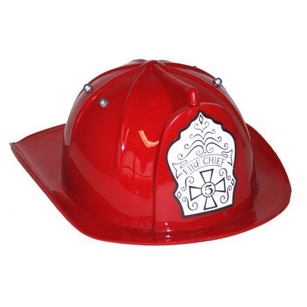 FUNNY FASHION Casco da pompiere - rosso