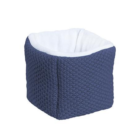 Schardt Caja de almacenamiento azul oscuro