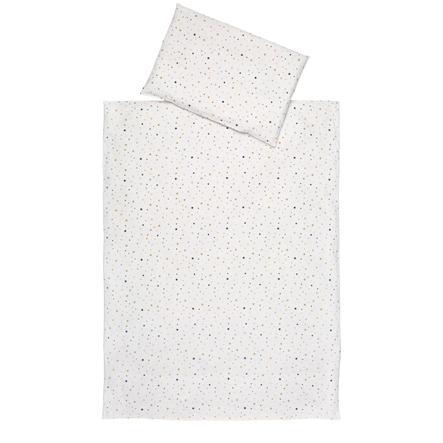 Schardt 2-delt sengetøy 100 x 135 cm LITTLEle Stars gull