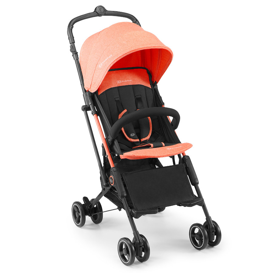 Kinderkraft reisevogn Mini Dot Coral