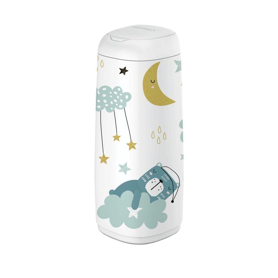Angelcare® Habillage pour poubelle à couches Dress-Up XL  ours endormi