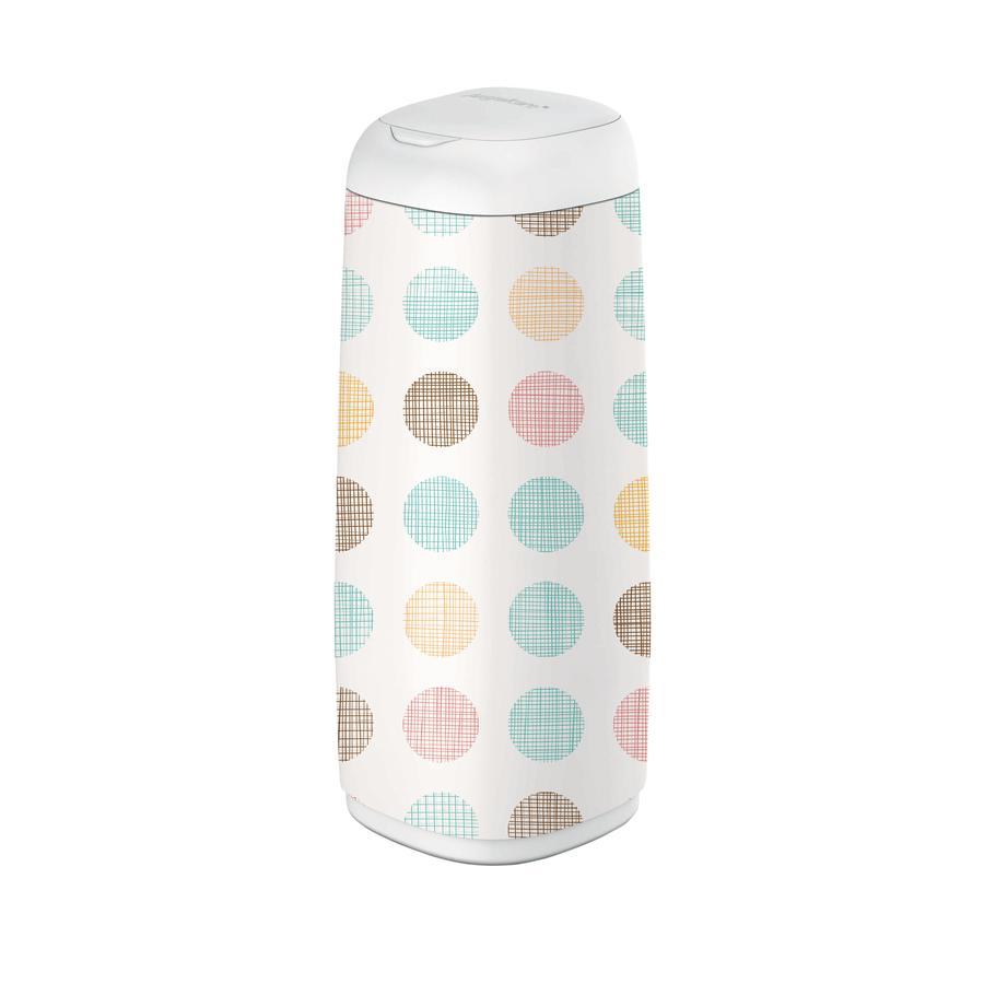 Angelcare® Habillage pour poubelle à couches Dress-Up XL  bulles