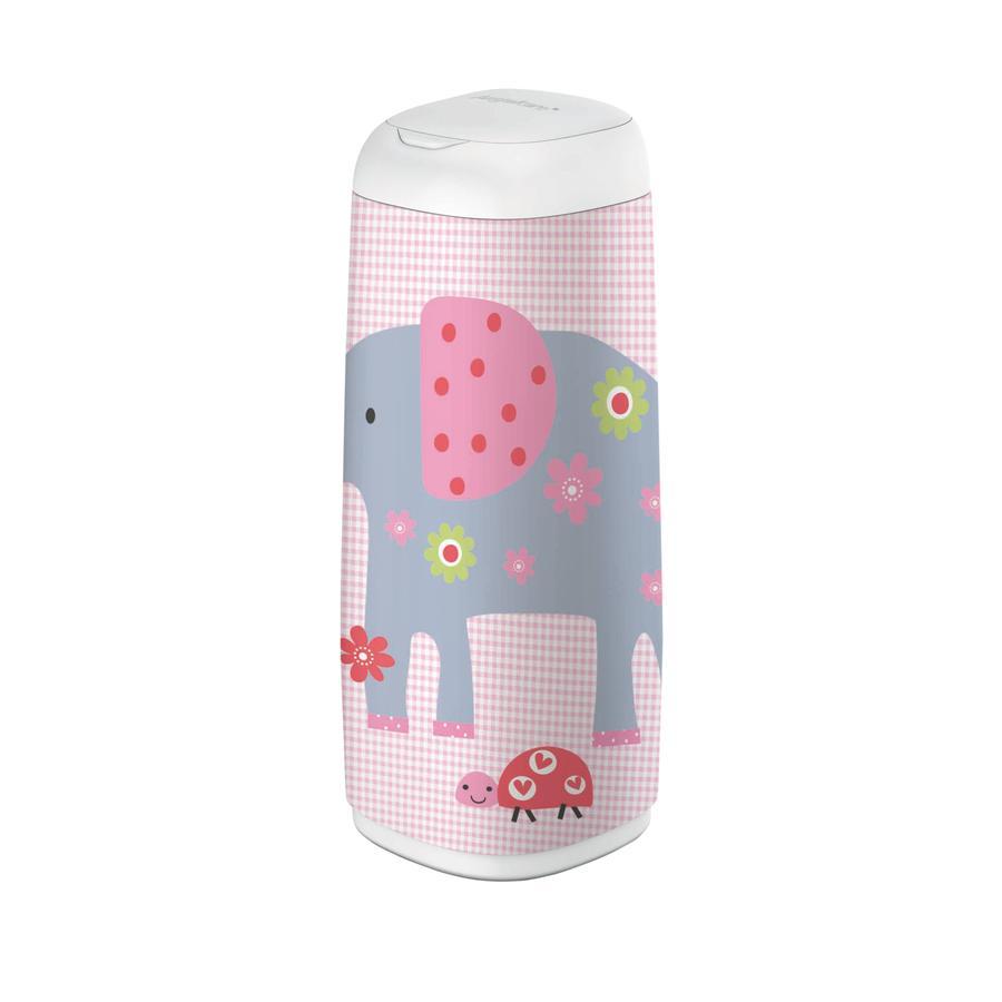 Angelcare® Pokrowiec na wiaderko  Dress-Up XL Elephant family