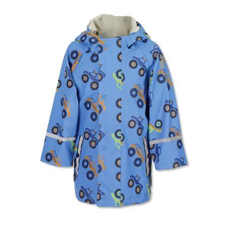 Sterntaler Regenjas ongevoerd azuurblauw
