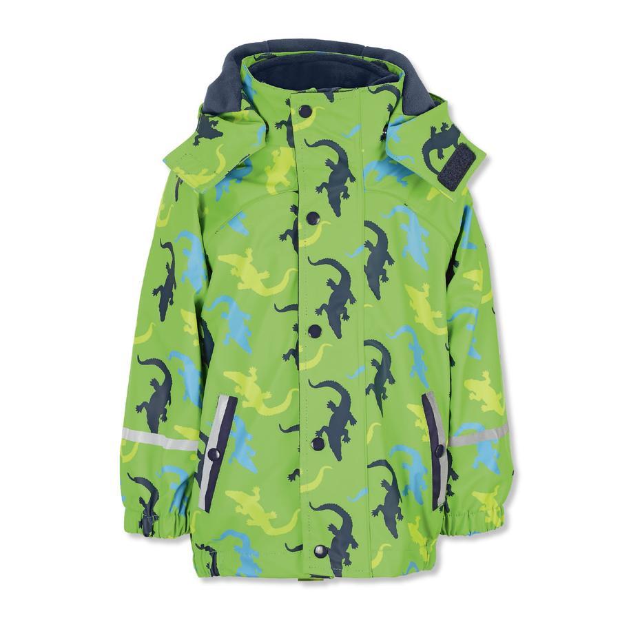 Sterntaler Veste de pluie avec veste intérieure verte