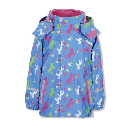 Sterntaler Regenjasje met binnenjasje azuurblauw