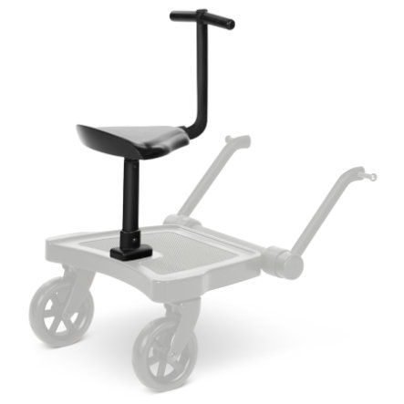 ABC DESIGN Asiento para plataforma Kiddie Ride On 2 Negro 2020