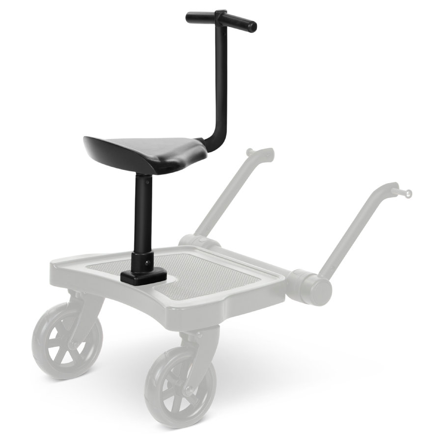 ABC DESIGN Siddebræt Kiddie Ride On 2 Sort 2020