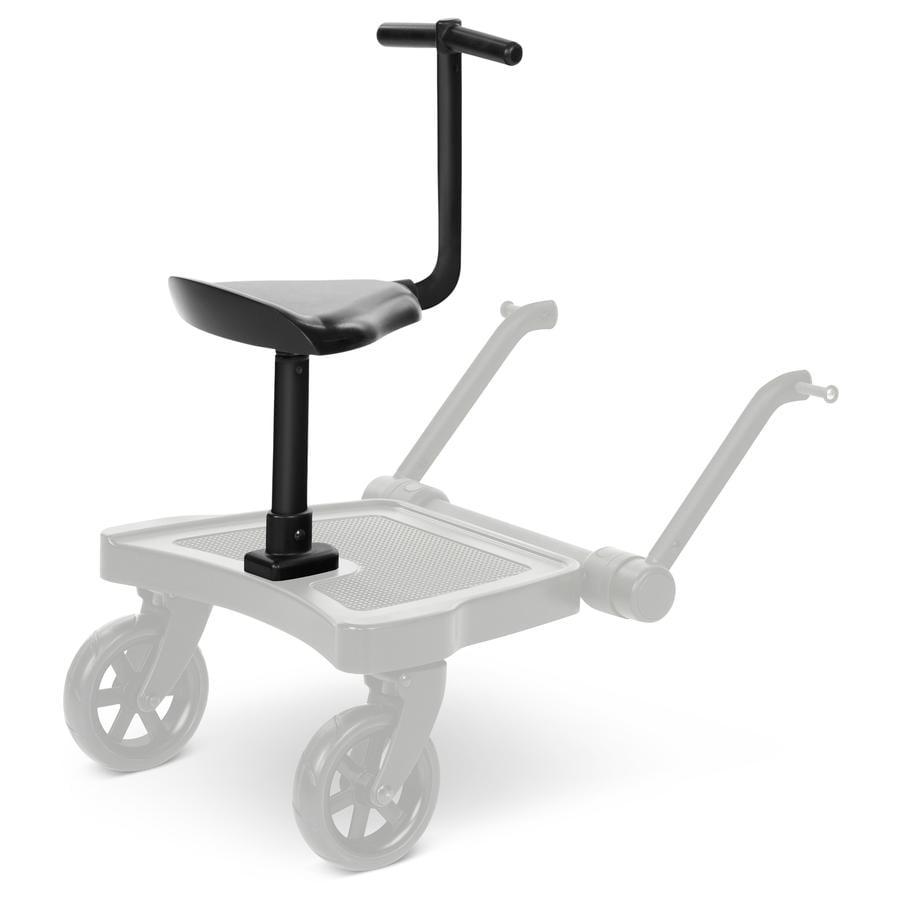 ABC DESIGN Sitte-ståbrett Kiddie Ride On 2 svart