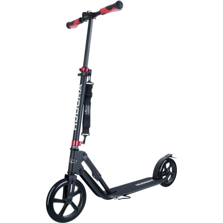 HUDORA Trottinette Big Wheel Style 230, noir 14235