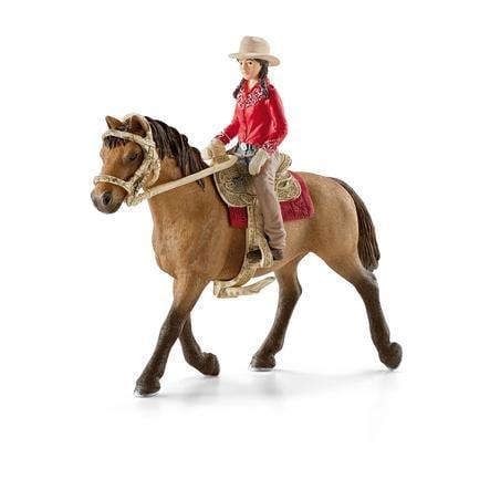 SCHLEICH Westernová jezdkyně 42112