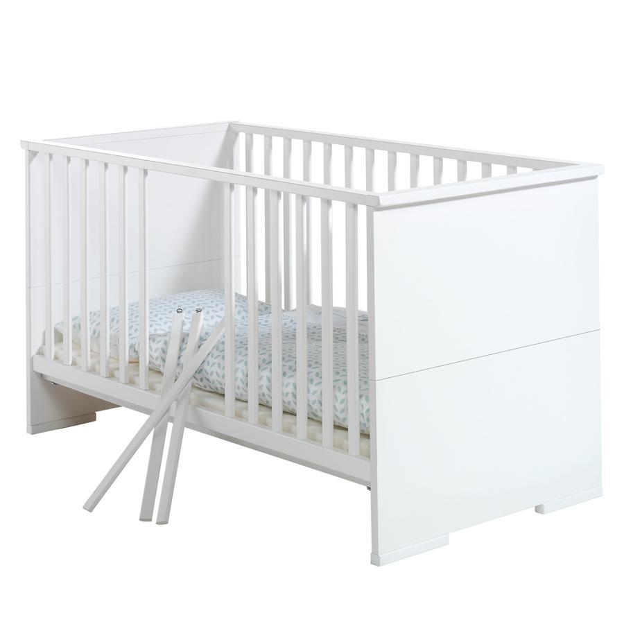 SCHARDT Maximo Blanc lit bébé évolutif 70x140cm
