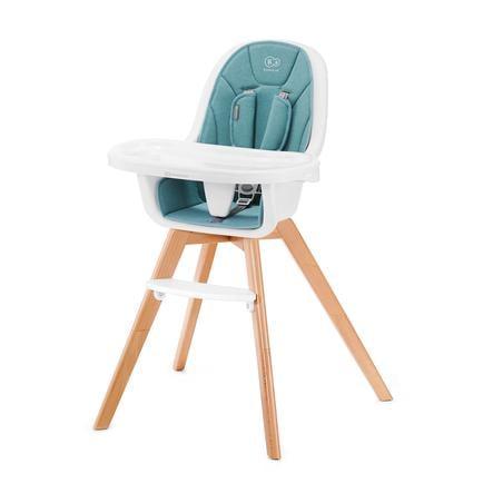 Kinderkraft Chaise haute évolutive Tixi 2en1 turquoise