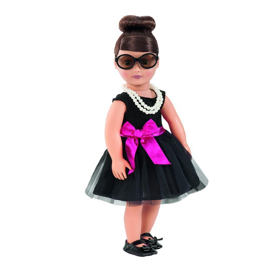 Our Generation - Sukienka koktajlowa z perłami dla lalki