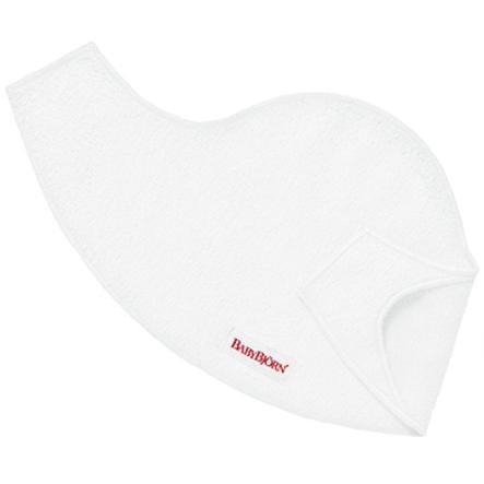 BABYBJÖRN Śliniaczek (2 SZTUKI) do nosidełek - kolor biały