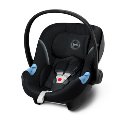 cybex GOLD Babyschale Aton M Deep Black