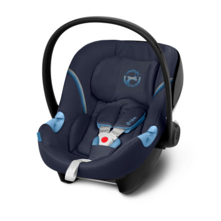 cybex GOLD Babyschale Aton M Navy Blue