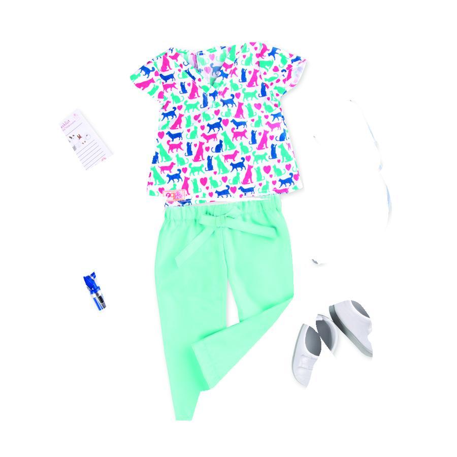 Naše generace - Outfit veterinář