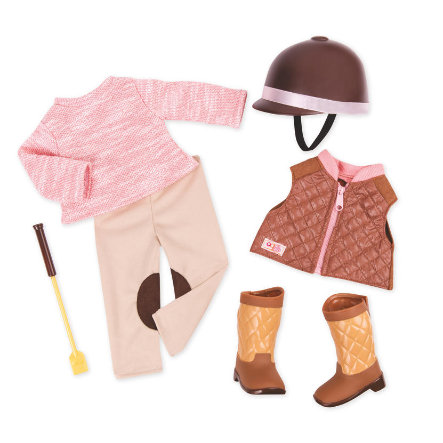 Our Generation - Outfit Deluxe Reiteroutfit mit Weste