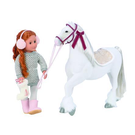 Naše generace - vánoční kůň Clydesdale