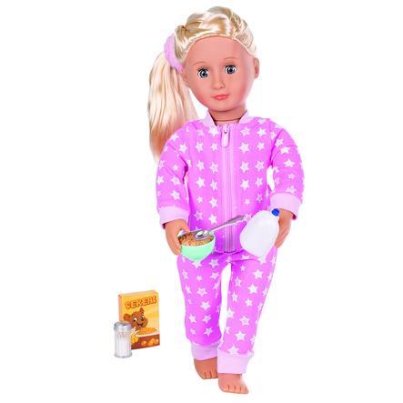 Our Generation - Piżama różowy kombinezon w gwiazdki