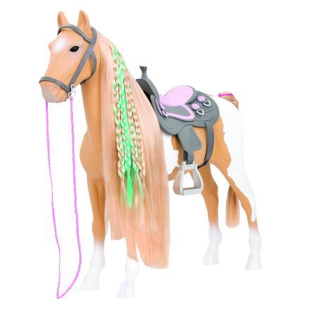 Our Generation - Palomino hest med hårdekoration