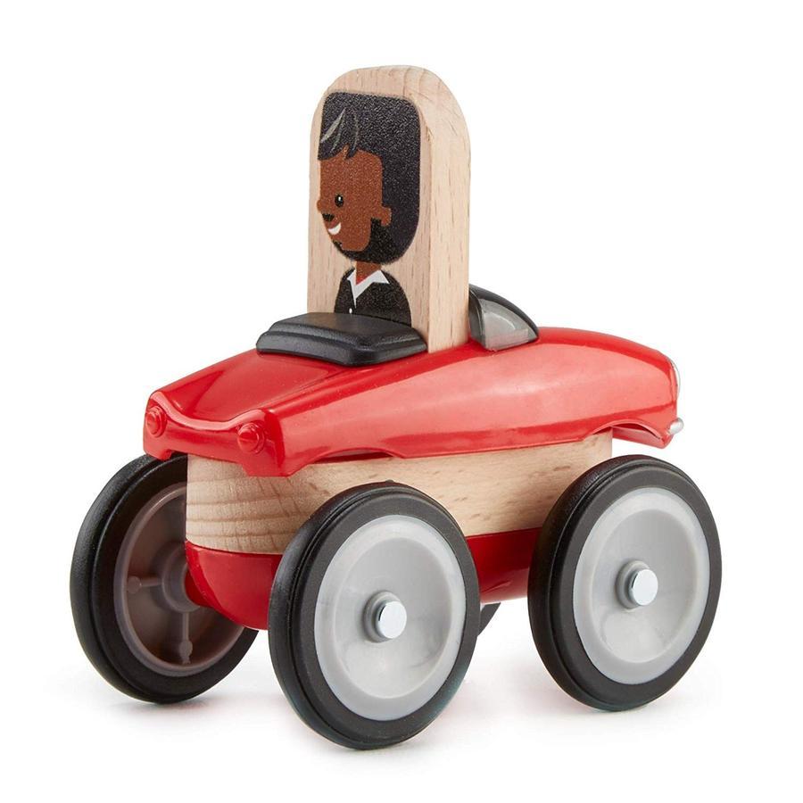 Fisher-Price® Jeu de construction voiture de course Wonder Makers bois