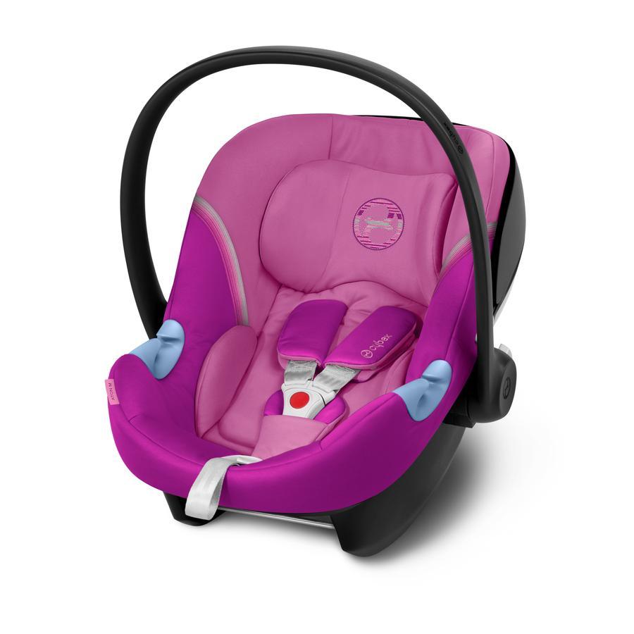cybex GOLD Aton M i-Size babybilstol Magnolia Pink