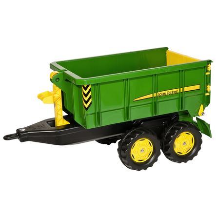 rolly®toys Remorque benne pour tracteur enfant rollyContainer John Deere 125098
